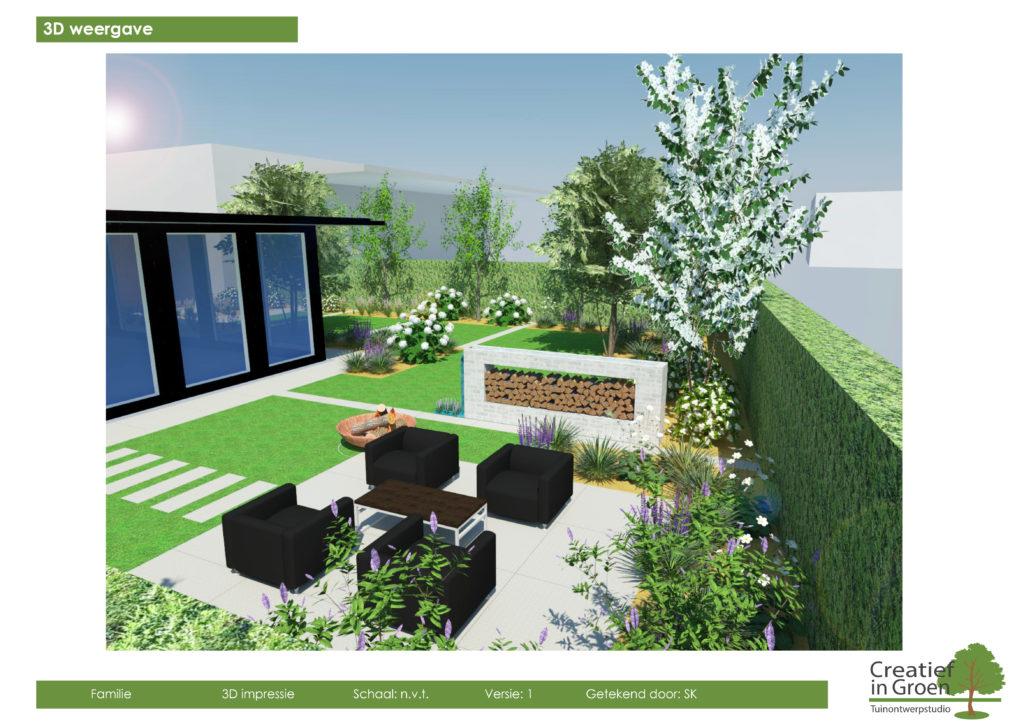 D tuinontwerp tuin ontwerp studio creatief in groen